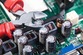 Service repair and maintenance of electronic — Stock Photo