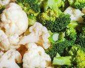 Cooking broccoli — Stock Photo