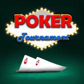 Torneo di poker — Foto Stock