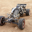ストック写真: RC buggy in desert