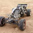 Stockfoto: RC buggy in desert