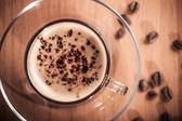 Invigorating fresh coffee — Stock Photo
