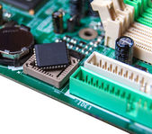 Repair, assembly and maintenance of electronic  — Foto de Stock