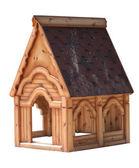 Maison en bois fait maison — Photo