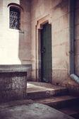 老式的大门 — 图库照片