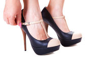 High-heeled shoes — Stock Photo