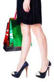 Chica de compras — Foto de Stock