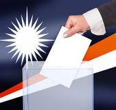 Electoral vote by ballot — Stock Photo