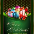 Royalty-Free Stock : Merry Christmas and Happy New Year