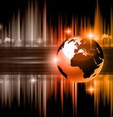 High Tech business background — Stock Vector