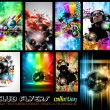 Vector de stock : Club Flyers ultimate collection - High quality