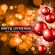 Christmas Background with a lot of ray lights - Stock Vector
