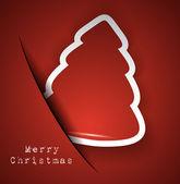 Elegant Classic Christmas Background — Stock Vector