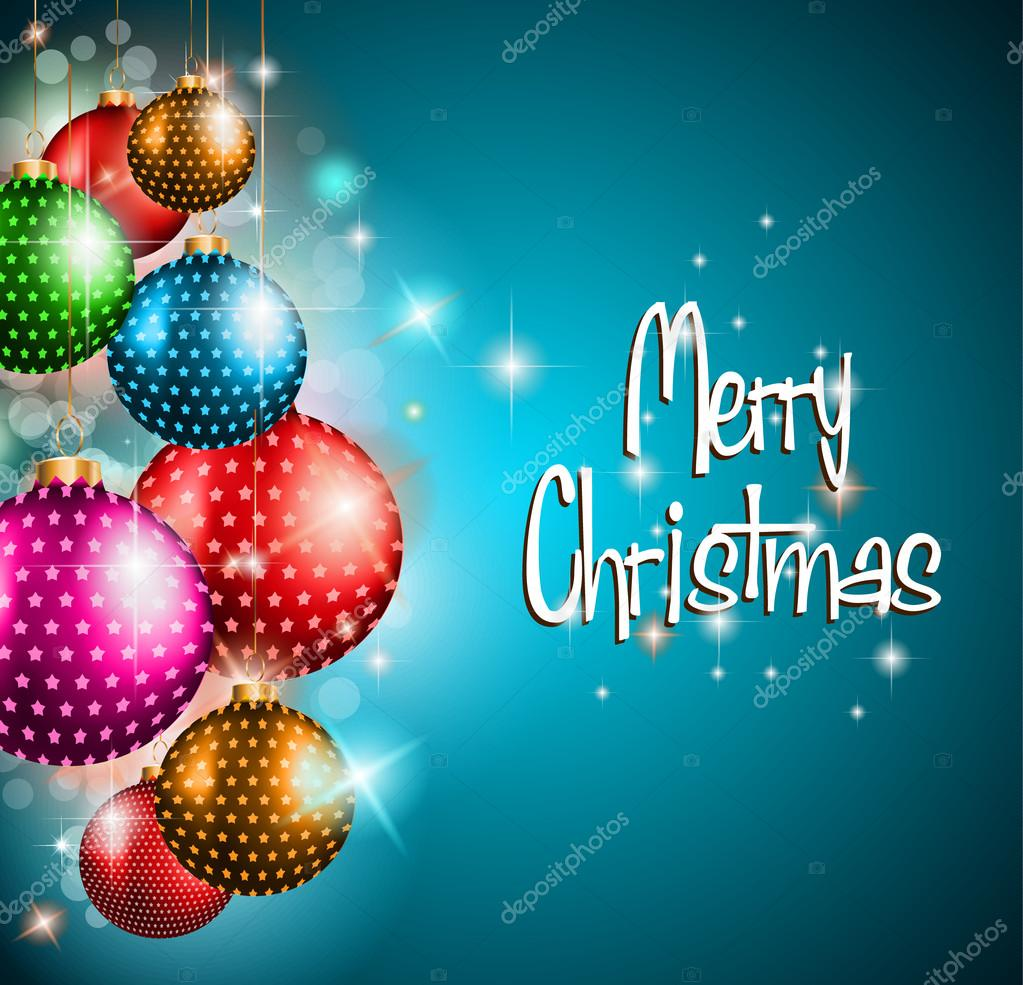 merry christmas flyer glitter background stock vector merry christmas flyer glitter background stock vector 15028523