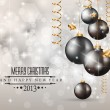 Elegant Classic Christmas Background - Stock Vector