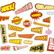 Royalty-Free Stock Vector Image: Comic Word Expressions - Set 2b