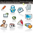 Design Element Office Collection — Image vectorielle