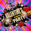 Stock Vector: Valentine's Day party flyer background