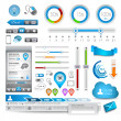 Infographic elements - Quality Set — Stock Vector