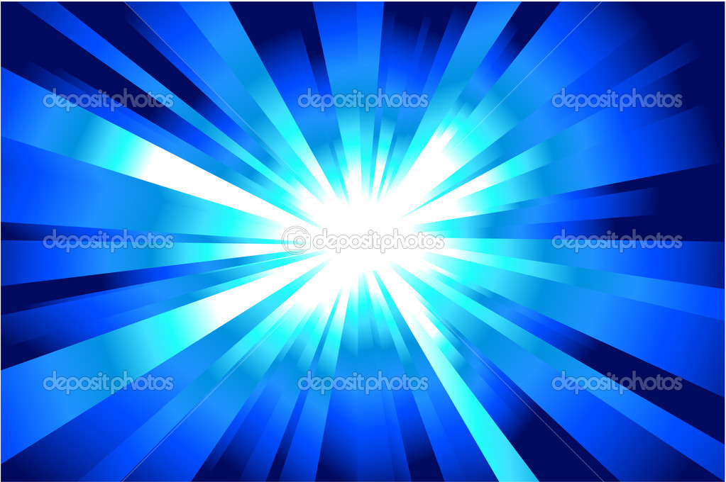 Colorful explosion of light with casual rays. — Stock Vector #19084939