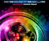 Disco club flyer — Stock Vector