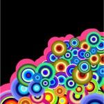 Stylish bubbles background — Stock Vector #23035812