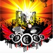 Disco Music Event Background - 