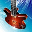 Classic Guitar - Stock Vector