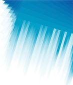 Linee blu business card — Vettoriale Stock