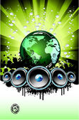 Music Backound — Stock Vector