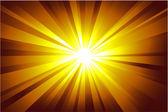 抽象的な 3 つ星光の背景 — ストックベクタ