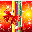 Gift box background - Stock Vector