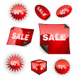 Sales Icon Set  — Stock Vector