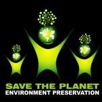 Environment Saving background — Stock Vector #23282358