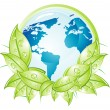 Environment Earth — Stock Vector
