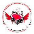 Royalty-Free Stock Imagem Vetorial: Valentines Background