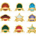 Retro Vintage Emblems - Set 1 — Stock Vector #23283660