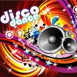 Disco Dance Background — Stock Vector