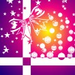 Colorful Christmas Background - Stock Vector