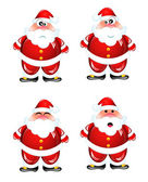 Funny Santa humor set — Vector de stock
