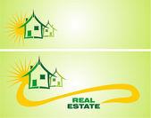 Real Estate Design Elements — Stock Vector