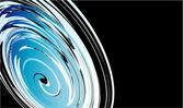 液体の効果ビジネス カード — ストックベクタ