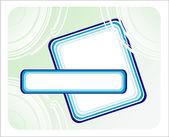 Fantazie kartu pozadí — Stock vektor