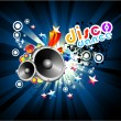 Royalty-Free Stock Vector Image: Music Colorful Background