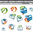 Email 3D Icon Set - Stock Vector