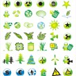 Environmetal Icon Set - Vettoriali Stock