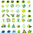 Environmetal Icon Set - Stockvektor