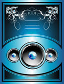 Music Flayer background — Stock Vector