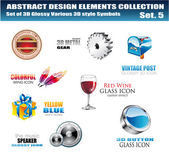 Design Elements Collection — Stock Vector
