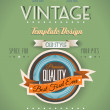 Vintage retro page template for a variety of purposes: — Stock Vector #24825467